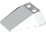 Wedge 4 x 4 Triple with Stud Notches, White (48933 / 4264026)