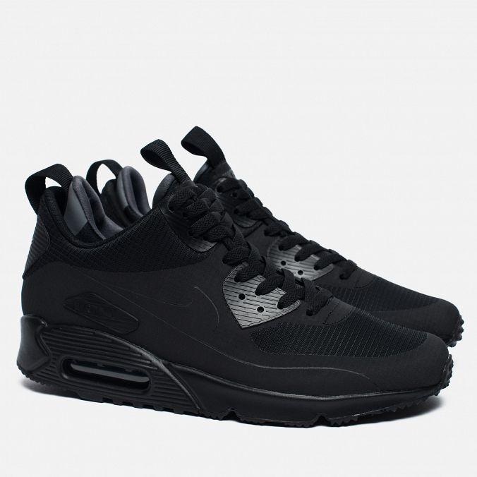 b6bdcb89 Купить Nike Air Max 90 Sneakerboot All Black купить, в Екатеринбурге ...