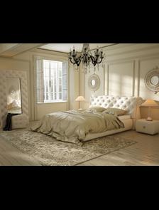 Кровати мягкие Виктория мебель (Россия)