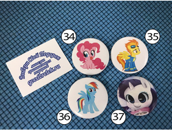Значки My Little Pony №9