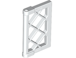 Pane for Window 1 x 2 x 3 Lattice with Thick Corner Tabs, White (60607 / 4538968 / 6316757)
