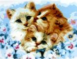 три котенка 30х40
