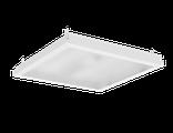"""Светодиодный светильник """"ВАРТОН"""" тип кромки Clip-In (GemaGrid)  6500 600*600*62мм 36 ВТ 6500К IP54 с опаловым рассеивателем с функцией аварийного освещения"""