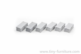 Rectangular Chests (unpainted)
