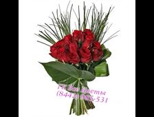 Букет из 11 роз красных Дар