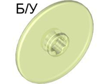 ! Б/У - Technic, Disk 3 x 3, Glow In Dark Trans (2958 / 4263240) - Б/У