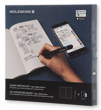 Набор Smart Writing Moleskine (блокнот Paper Tablet, ручка SMART PEN+)