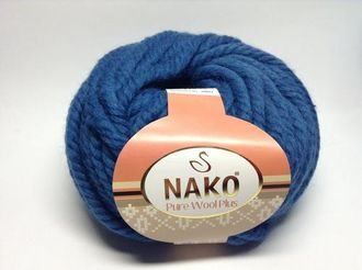 Nako Wool Plus темно-синий 10093