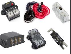 Провода и прочие комплектующие для установки автозвука