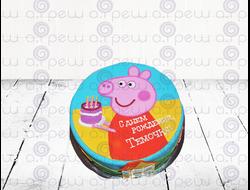 """Торт № 15 """"Пеппа Пиг"""" (Детские торты)"""