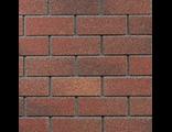 Фасадная плитка HAUBERK (Хауберк) Терракотовый кирпич (ТехноНИКОЛЬ) 2,5м2