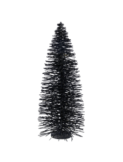 Елочка декоративная DECO CHRISTMAS TREE AIGUIPI BLACK D22XH55 PLASTICарт.31951