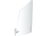 Technic, Panel Fairing #17 Large Smooth, Side A, White (64392 / 4547031 / 6023994)