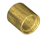 Technic, Pin Connector Round 2/3 L, Pearl Gold (18654 / 6256803)
