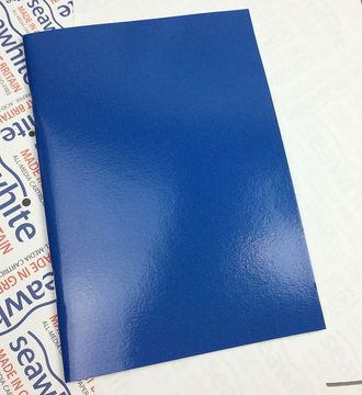 Скетчбук Seawhite Starter Sketchbook Laminated Cover (А4, 40 стр., 140gsm) blue