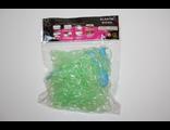 Резиночки светло-зеленые 600 шт