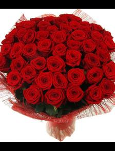 Букет 59 роз Премиум