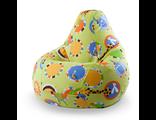 кресло-мешок десткое ЗОО сатин 80*110