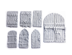 Castle doors (unpainted)