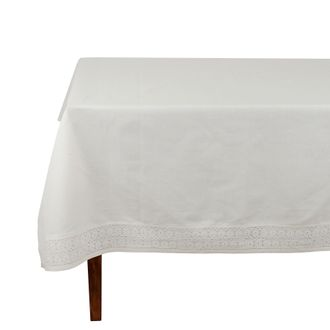 Скатерть NAPPE RECTANGLE ADELIE IVOIRE
