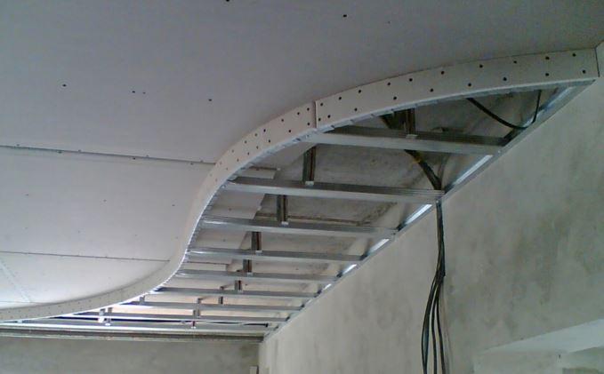 Как сделать потолок из гипсокартона многоуровневый