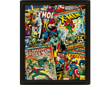 3D Постер Marvel Comics