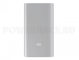 "Внешний аккумулятор XIAOMI Power Bank 5000 mAh ""Серебро"""