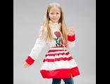 Пальто для девочек A16030,  STEEN AGE красное