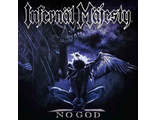INFERNAL MAJESTY - No God LP ROYAL BLUE