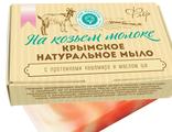 """Крымское натуральное мыло """"Флер"""" на козьем молоке (Дом природы)"""