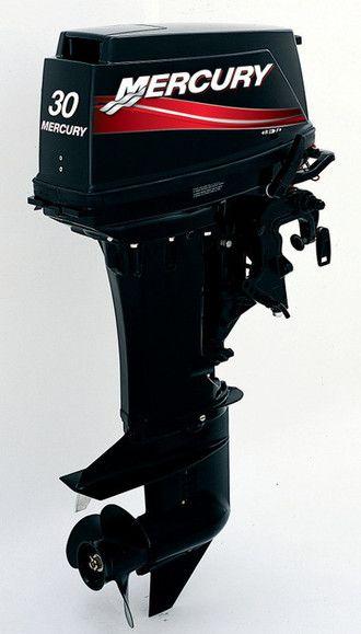 лодочный мотор меркурий белый