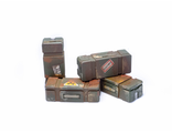 Ammo boxes (painted)