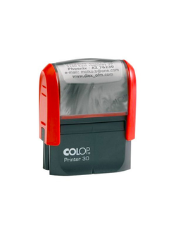 ОСНАСТКА ДЛЯ ШТАМПА COLOP PRINTER 30 NEW; 47Х18 ММ.