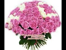 Букет Розовая Надежда 35 розовых роз