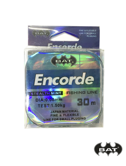 Леска BAT ENCORDE 30м.\0,1 (монофил)