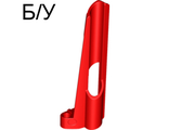 ! Б/У - Technic, Panel Fairing # 8 Small Long, Large Hole, Side B, Red (32535 / 4193846) - Б/У
