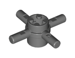 Technic, Axle Connector Hub with 4 Bars, Dark Bluish Gray (48723 / 4222192)