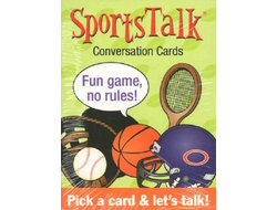 Sports Talk Conversation cards