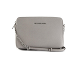 Сумка Michael Jet Set Travel Crossbody Light grey / Светло-серая
