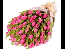 51/101 розовый Тюльпан букет Идеально Нежно