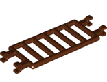 Bar 7 x 3 with Quadruple Clips (ladder), Reddish Brown (30095 / 6271129)