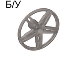 ! Б/У - Wheel Cover 5 Spoke without Center Stud - 35mm D. - for Wheels 54087, 56145 or 44292, Flat Silver (54086 / 4494057) - Б/У