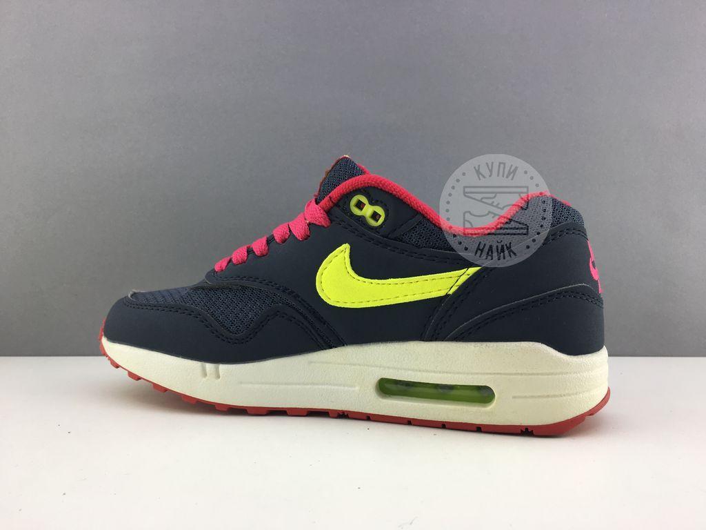 6a67963d Купить женские кроссовки nike air max 87 синие с розовым, купить ...