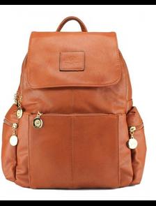 Рюкзак женский PYATO тыквенный p-034