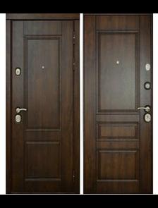 """Классика """"Винорит"""" - Внешняя и внутренняя стороны входной двери"""