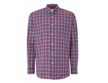 Рубашка T.M.LEWIN Poplin Graph Check Button Down Shirt