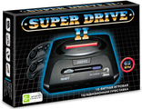 Sega Super Drive 2 (62-in-1) (черная)
