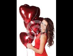 Воздушный шар Сердечко
