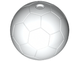 Sports Soccer Ball Plain, White (x45 / 6018511)
