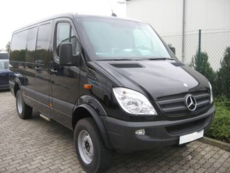 Used armored Mercedes-Benz 319 CDI 4x4 in B7 according to CEN1999, 2007 YP - SOLD OUT!!!